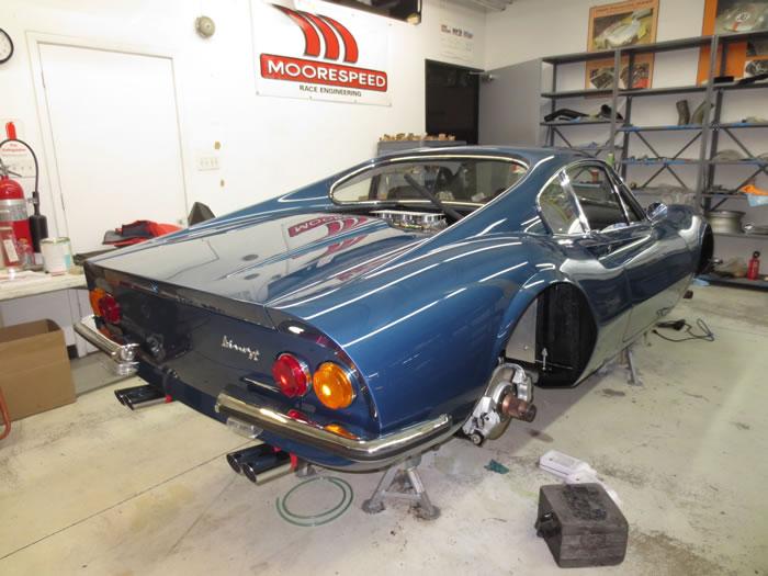 246GT#0416 Prototype Restoration