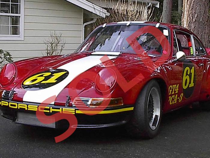 1966 Porsche 911S Racecar Chassis #306984