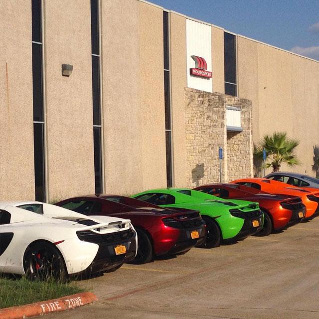 McLaren Service at Moorespeed Austin