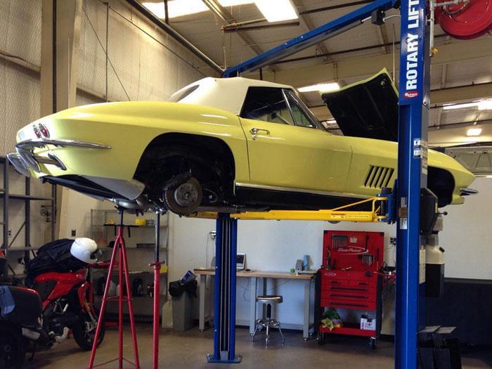 1967 Corvette Coupe Restoration