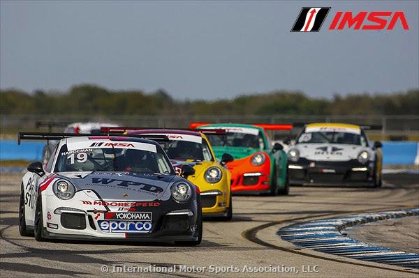 Moorespeed IMSA Porsche GT3 Cup USA