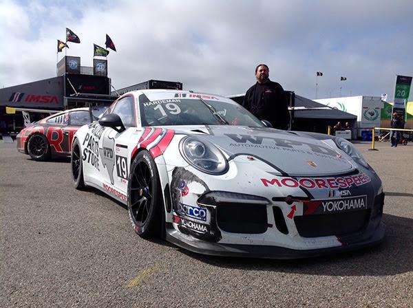 No. 19 WPD/Moorespeed Porsche