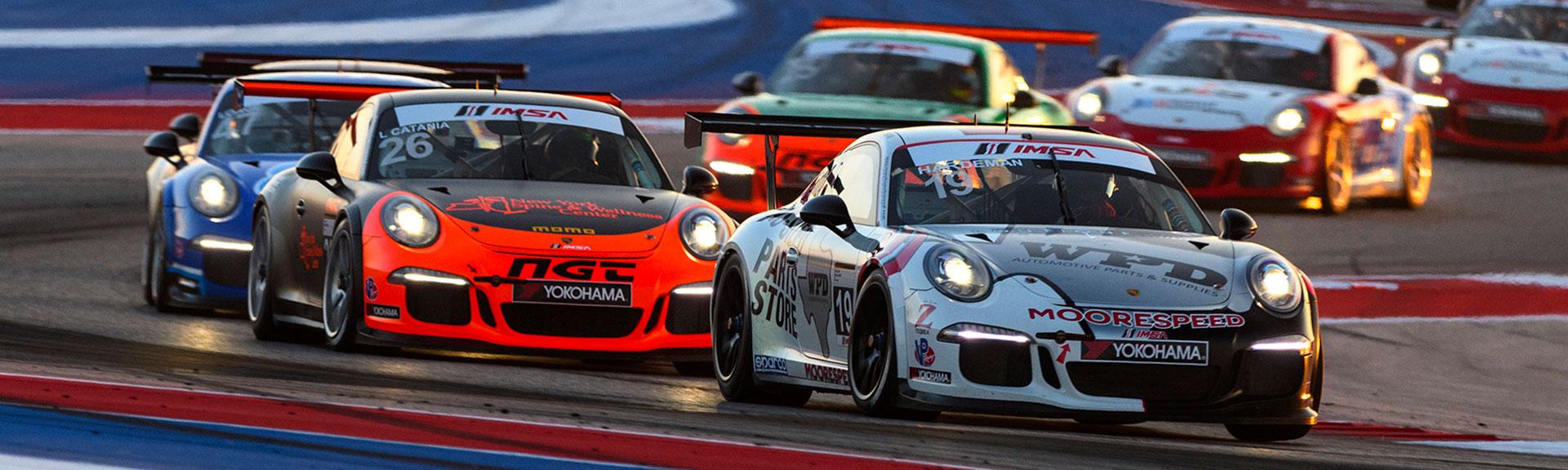 Porsche GT3 Cup Racing