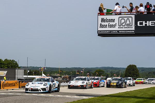 IMSA Porsche GT3 Cup USA Road America